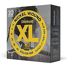 El medidor híbrido combina EXL120 para mayor flexibilidad y EXL110 para un bajo nivel más sólido Ronda de herida con acero niquelado para un tono brillante distintivo Embalaje respetuoso con el medio ambiente y resistente a la corrosión Indicadores d...