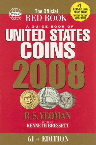 2008 Guide Book of US Coins Redbook (Guide Book of United States...