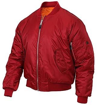 Rothco MA-1 Flight Jacket Red M