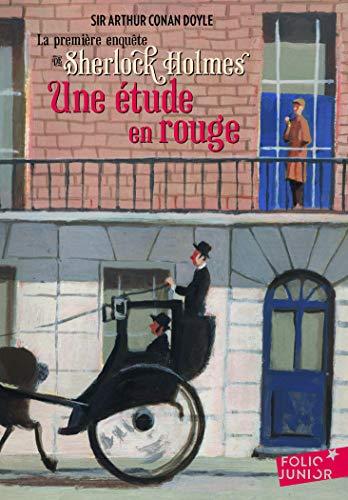Une étude en rouge. La première enquête de Sherlock Holmes - Folio Junior - A partir de 11 ans