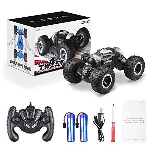 ETEPON Macchina Telecomandata, 2.4Ghz RC Auto 4WD Stunt Car, Deformazione ad Alta velocità Macchina Radiocomandata per Bambini Giocattoli - EQ70