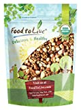 Organic Keto Raw Nuts Mix, 8 Ounces — Keto Snack Contains Non-GMO Brazil Nuts, Pecans, Walnuts, Hazelnuts and Macadamia Nuts, Low Carb Vegan Superfood, Kosher, Non-Irradiated, No Added Sugar, Bulk