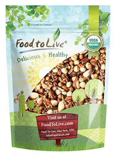 Organic Raw Nuts Mix, No Added Sugar, Bulk