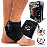LUMINARY FOR YOU Fußbandage mit der Besonderheit - Elastischen Überkreuz-Zuggurten. Die...