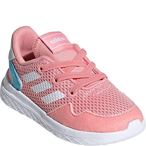 adidas Archivo Zapatillas de correr para niños, (Glory Rosa/Blanco/Cian Brillante), 25 EU