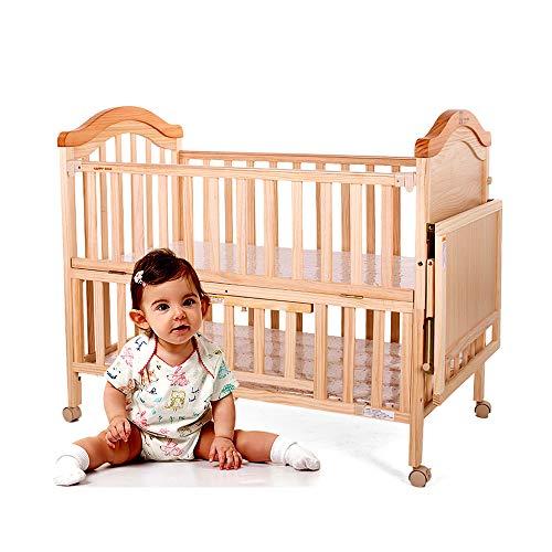 AXIANQI wieg multifunctionele riem roller baby speelhek natuurlijke hout wieg gezonde niet-giftige riem wieg geschikt voor 0-8 jaar oud baby 118 * 91 * 68CM Bed+cradle+bedding