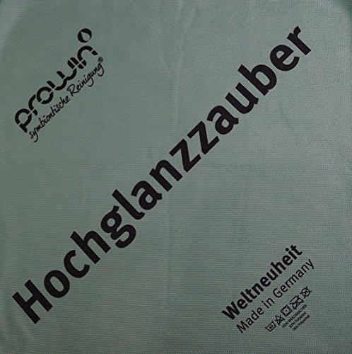 ProWin Hochglanzzauber grün 32 cm x 32 cm