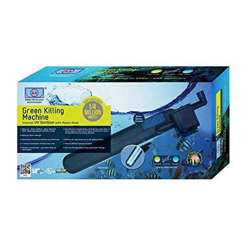 AA Green Killing Machine Wasserklärer - Interner UV Sterilisator zur Algen Bekämpfung (GKM 24 Watt)