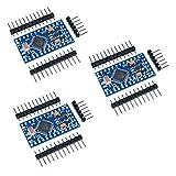 HiLetgo 3pcs Pro Mini ATmega328P 3.3V 8M Module Board with Crystal Oscillator Compatible Arduino Pro Mini Replace ATmega128