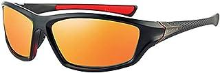 DishyKooker Men Fashion Retro Outdoor Driving All-match Polarized Sunglasses