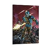 Action Time XO Manowar Poster, dekoratives Gemälde,