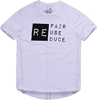CAMISETA MASCULINA REPAIR REUSE REDUCE KHELF