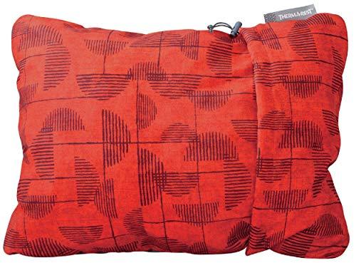 Therm-a-Rest Compressible Pillow - bauschiges Reisekopfkissen, Größe:L, Farbe:Cranberry Print