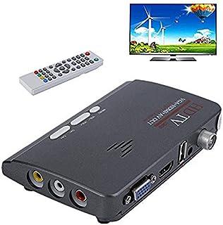 Nadalan HD 1080P VGA DVB-T / T2 AV alla custodia TV VGA con soporte HDMI MPEG4 VGA HDMI