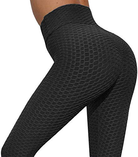 Yutdeng Mallas Push up Mujer Leggins Deportivos Yoga Leggings Mallas Pantalones Deportivos Alta Cintura Elásticos Fitness