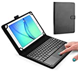 HOM Universal Bluetooth Wireless Keyboard with Touchpad Mouse Case Cover for All 9''