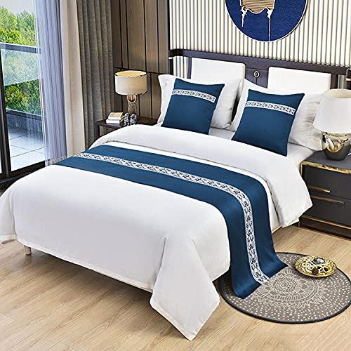 Colcha de lino de algodón para cama de 50 x 50 cm (sin núcleo)