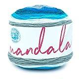 Lion Brand Yarn Company 525-223 Mandala Yarn, Sirena, una madeja
