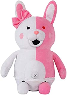 QINCCI Danganronpa Principal Monomi Plush Doll Toys 3D Animal Plush Decoration Pillow Necessary Choices for Home Gifts 45cm(17.7inch)