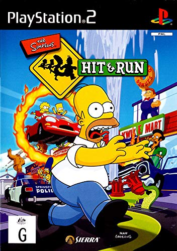 Sierra The Simpsons - Juego (PS2)