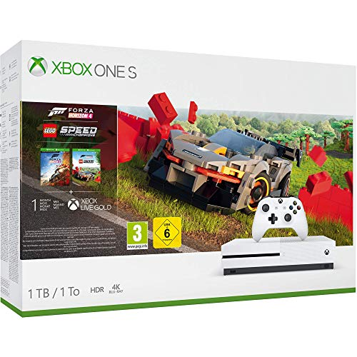Xbox One S 1TB Console - Forza Horizon 4 Lego Speed Champions Bundle (Xbox One)