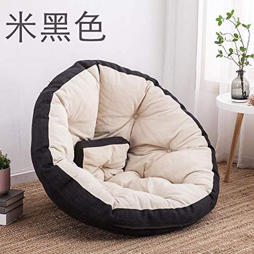 LKU sofakruk comfortabele zitzak stoel faul sofa enkele zitzak ligstoel kleine woning slaapkamer lief, M maat 0
