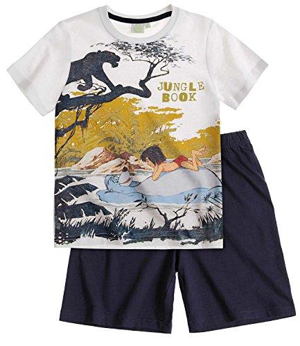 Disney Das Dschungelbuch Jungen Shorty-Pyjama - Marine blau - 128