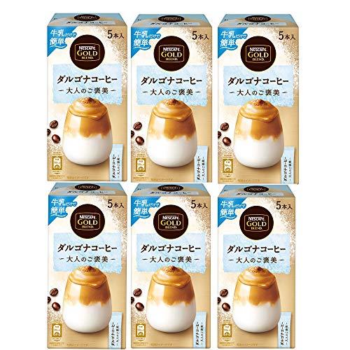ネスレ日本 ネスカフェ ゴールドブレンド 大人のご褒美 ダルゴナコーヒー 5p ×6個 インスタント(スティック)