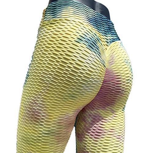 NIGHTMARE Entrenamiento Correr Estiramiento Súper Suave Modal Yoga Pilates Pantalones Scrunch Grueso Control de Barriga Leggings de Yoga M