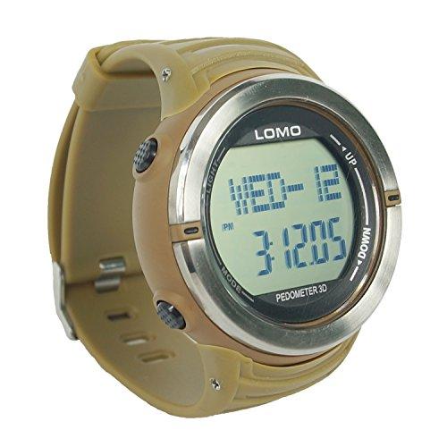 Lomo SW1impermeabile orologio sportivo con cardiofrequenzimetro Pulse contatore e contapassi