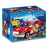 Playmobil Fire Chief's Car with Lights and Sound - City 5364