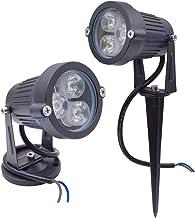 مصابيح LED للحجر - شحن مجاني 9 وات في الهواء الطلق ضوء العشب 24 فولت 220 فولت سبايك أخضر أزرق أصفر أحمر دافئ أبيض لتزيين ا...