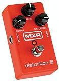 DUNLOP MXR DISTORTION III DISTORTION 3 - Efectos de guitarra eléctrica (distorsión, Overdrive, Fuzz)