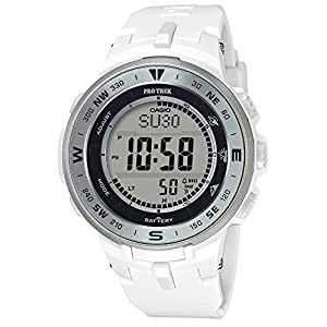 [カシオ] 腕時計 プロトレック ソーラー PRG-330-7JF メンズ ホワイト