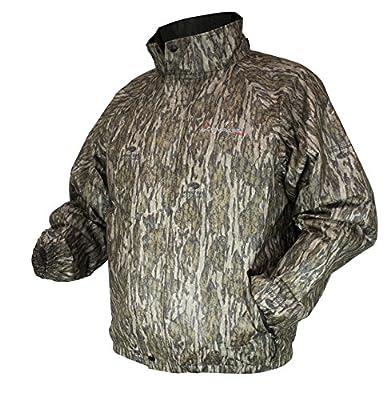 COMPASS 360 Men's AdvantageTek Waterproof Camo Rain Jacket