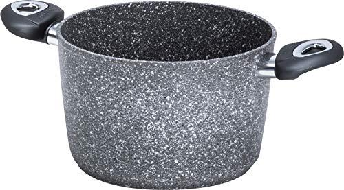 Aeternum Madame Petravera 3.0 Pentola, Alluminio, Adatta all'induzione, 20 cm, grgio