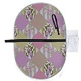 Almohadilla portátil para bebé Impermeable Patchwork plegable Textura floral...