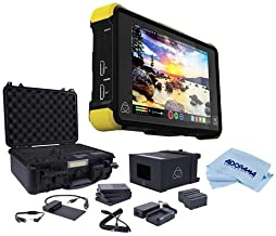 More Atomos Shinobi SDI 5 3G-SDI /& 4K HDMI Pro Monitor with Essential Accessory Bundle 2X Extended Life NP-F970 L-Series Batteries Includes: SanDisk Extreme PRO 64GB SDXC Memory Card