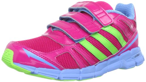 adidas Performance adifast CF K - Zapatillas de Correr de Material sintético Infantil, Color Rosa, Talla 29