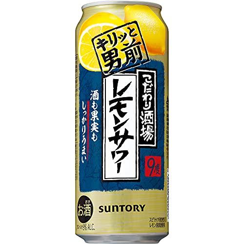 【お店の濃い味】こだわり酒場のレモンサワー缶 キリッと男前 [ チューハイ 500ml×24本 ]