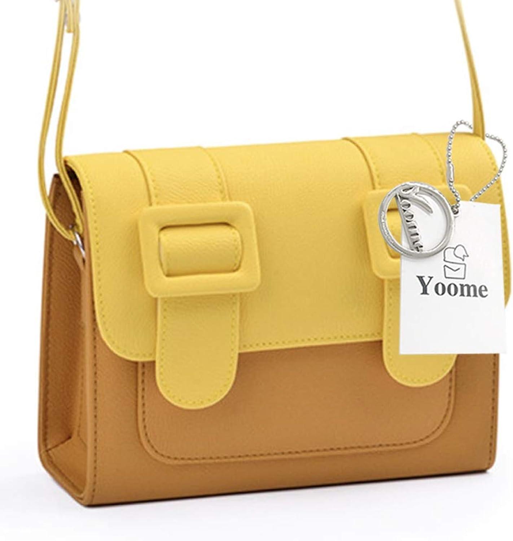 Yoome Girls Messenger Bag Shoulder Bag Crossbody Bag PU Leather Clutch Purse