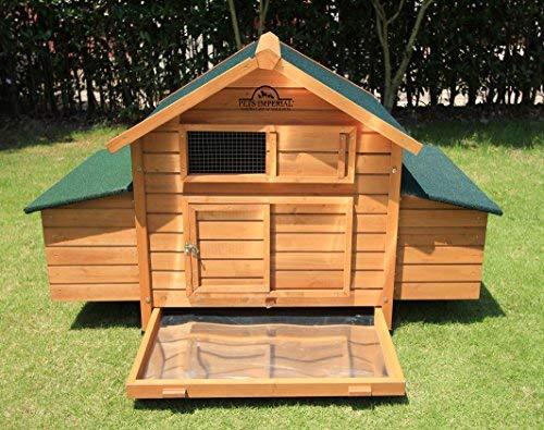 Pets Imperial® - Hühnerstall Marlborough - für 6 bis 8 Hühner Je nach Größe - leicht zu reinigen - 6