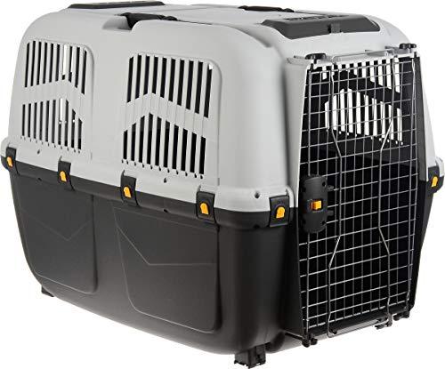 Skudo Iata - Trasportino per cani, Conforme agli standard per il trasporto aereo, Multicolore, 105 x 76 x 73 cm