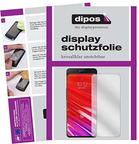 dipos I 6X Schutzfolie klar kompatibel mit Lenovo Z5 Pro GT Folie Bildschirmschutzfolie