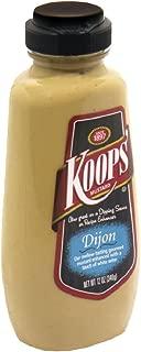 Koops Mustard Dijon Squeeze, 12-Ounce (Pack of 6)