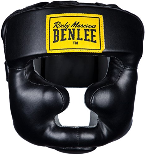 BENLEE Rocky Marciano Kopfschützer Full Protection, Schwarz, S/M