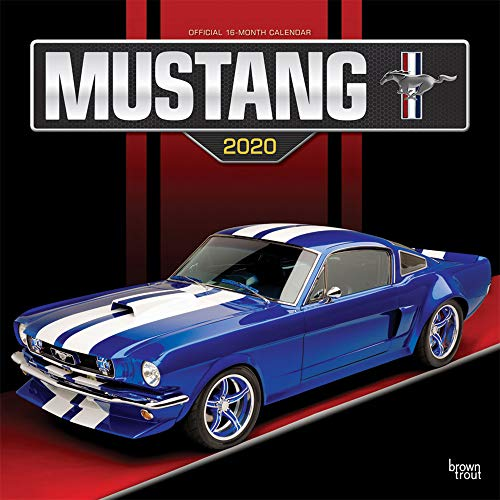 Mustang 2020 Square Wall Calendar