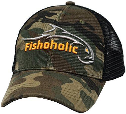 Fishoholic Camo Snapback