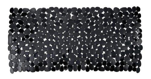 Wenko 20274100 Paradise Tapis de Baignoire Noir Dimensions 71 x 36 cm
