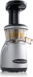 Omega VRT350X Vertical Low Speed Juicer, Silver (Renewed)
